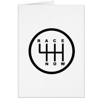 Race Now Gear Box Tribal Card