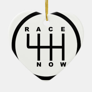 Race Now Gear Box Tribal Ceramic Ornament