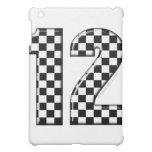 race number 12 iPad mini cases