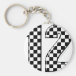 race number 12 keychains