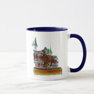 'Race of A Lifetime' (open sky  series) Mug
