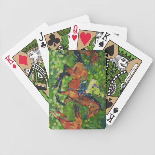 Race Playing Cards