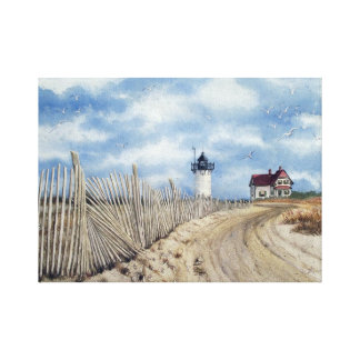 """"""" Race Point Light"""" Stretched Canvas Print 20x16"""