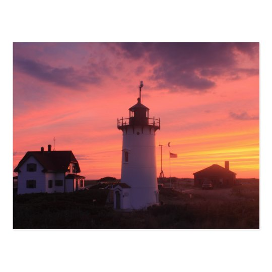 Cape Cod National Sea Shore: Race Point Lighthouse Cape Cod National Seashore Postcard