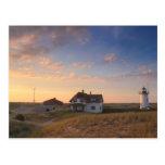 Race Point Lighthouse Cape Cod National Seashore Postcard