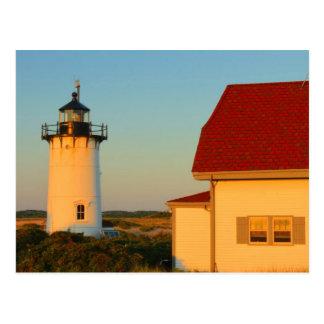 Race Point Lighthouse Cape Cod Postcard