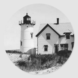 Race Point Lighthouse Classic Round Sticker