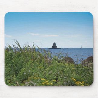 Race Rock Light - Fishers Island, NY Mouse Pad