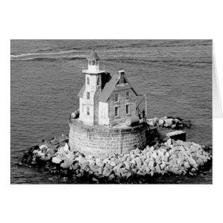 Race Rock Lighthouse Card