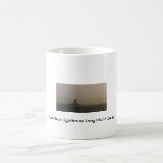 Race Rock Lighthouse Long Island Sound Coffee Mugs