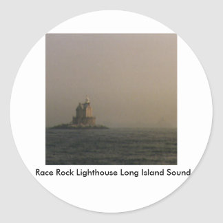 Race Rock Lighthouse Long Island Sound Sticker