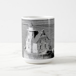Race Rock Lighthouse Coffee Mugs