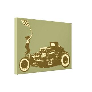 Race Start Canvas Print