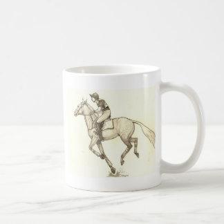 RACE TO FINISH Cross-Country Eventing Coffee Mug