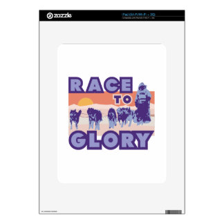 Race To Glory Decal For The iPad