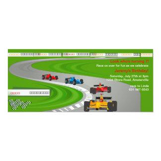 Race to the Finish Invitation