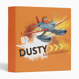 Race To The Rescue Vinyl Binder