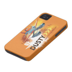 Case-Mate iPhone 4 Barely There Universal Case with Dusty Crophopper Race To The Rescue design