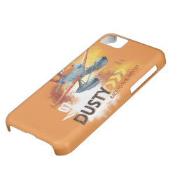 Case-Mate Barely There iPhone 5C Case with Dusty Crophopper Race To The Rescue design