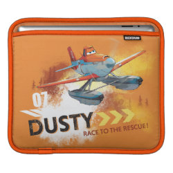 iPad Sleeve with Dusty Crophopper Race To The Rescue design