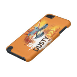 Case-Mate Barely There 5th Generation iPod Touch Case with Dusty Crophopper Race To The Rescue design