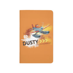 Pocket Journal with Dusty Crophopper Race To The Rescue design
