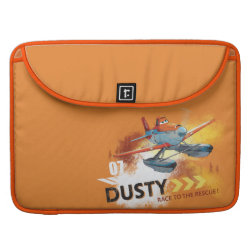 Macbook Pro 15' Flap Sleeve with Dusty Crophopper Race To The Rescue design
