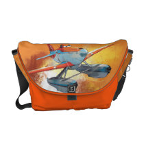 Race To The Rescue Messenger Bag