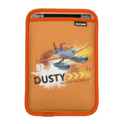 iPad Mini Sleeve with Dusty Crophopper Race To The Rescue design