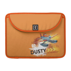 Macbook Pro 13' Flap Sleeve with Dusty Crophopper Race To The Rescue design
