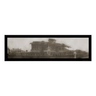 Race Track Oakland Photo 1907 Poster