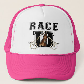 Race U Trucker Hat