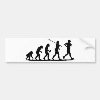 Race Walking Bumper Sticker