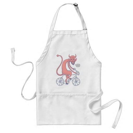 Race With Stan Adult Apron