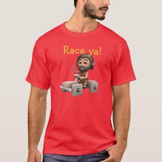 Race ya! Caveman car T-Shirt
