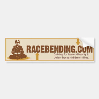 racebending.com car bumper sticker