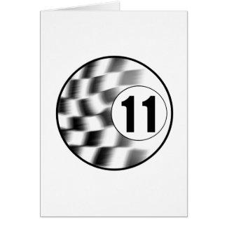 Racecar #11 card