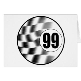 Racecar #99 card