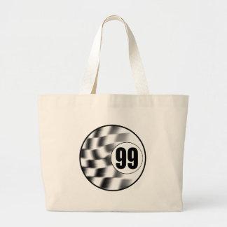 Racecar #99 large tote bag
