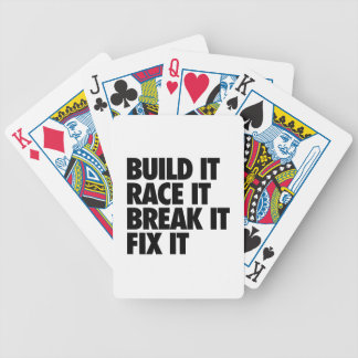 RaceCar Baraja Cartas De Poker