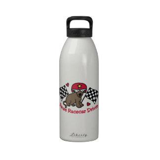 Racecar Driver Drinking Bottles