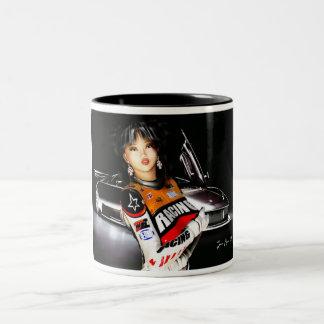 Racecar Model Feature Mug