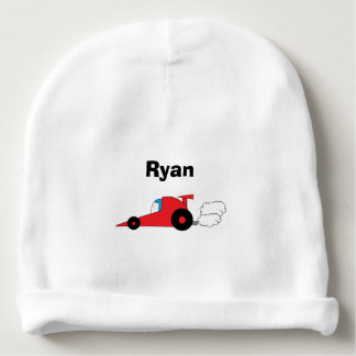 """Racecar"" Personalized Baby Hat"