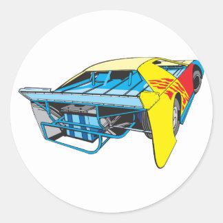 racecar sticker