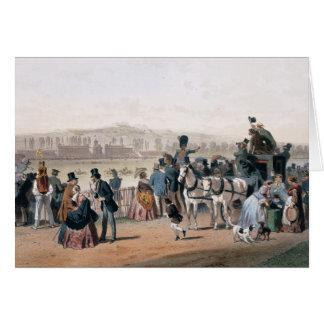Racecourse at the Bois de Boulogne Card