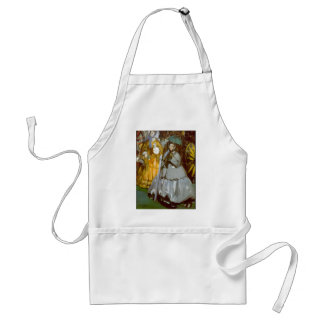 Racecourse by Edouard Manet Aprons