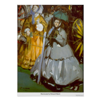 Racecourse by Edouard Manet Print