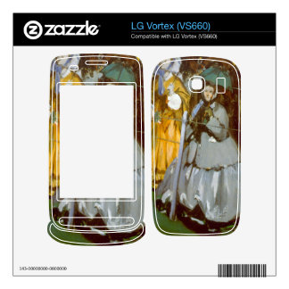 Racecourse by Edouard Manet Decals For The LG Vortex