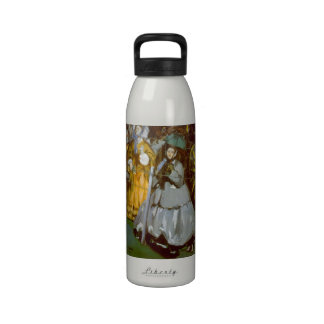 Racecourse by Edouard Manet Reusable Water Bottles