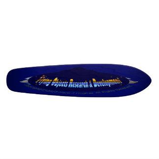 RaceCourtesy Flying Objects Research N Development Skateboard Deck
